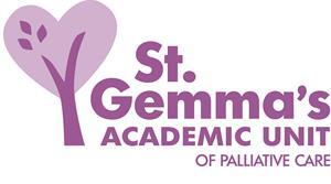 St Gemma's Hospice Academic Unit Logo