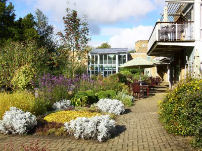 Gardens and conservatory and IPU