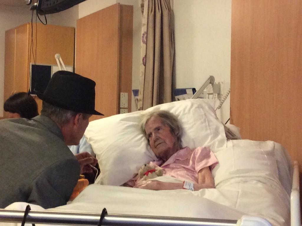 A Patient's Wish Comes True