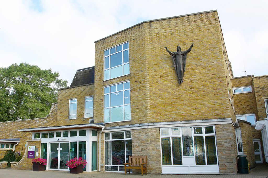 St Gemma Hospice exterior front