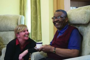 St Gemma's Hospice Caring for Patient