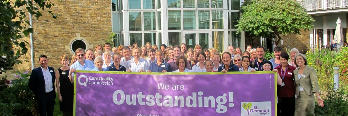St Gemma's Outstanding CQC Rating