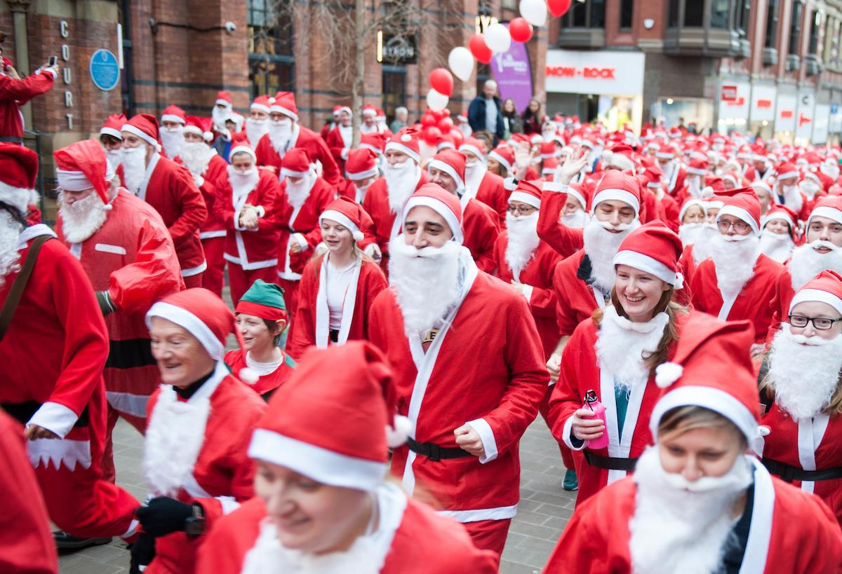 Leeds Santa Dash