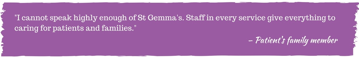 Quote about St Gemma's