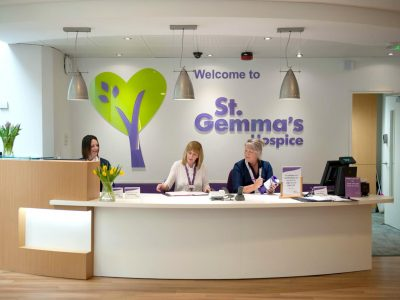 St Gemma's Hospice Reception