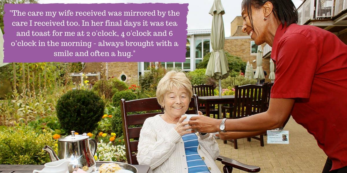 Tea Patient Care Quote