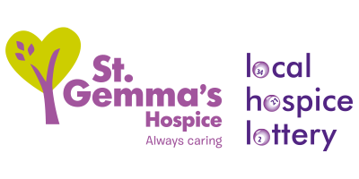 St Gemma's Hospice | Local Hospice Lottery logos