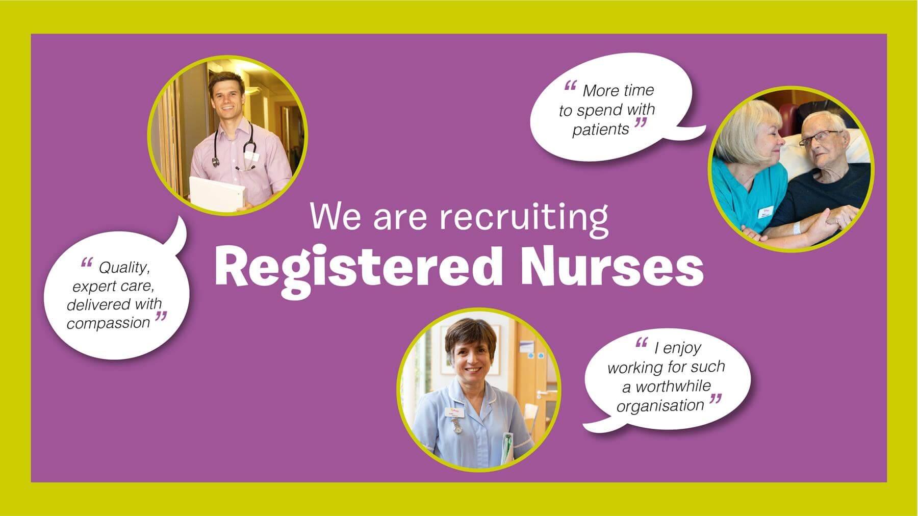 Nurse recruitment banner