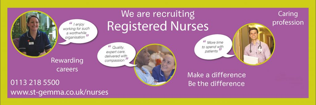 St Gemma's Nurse Recruitment
