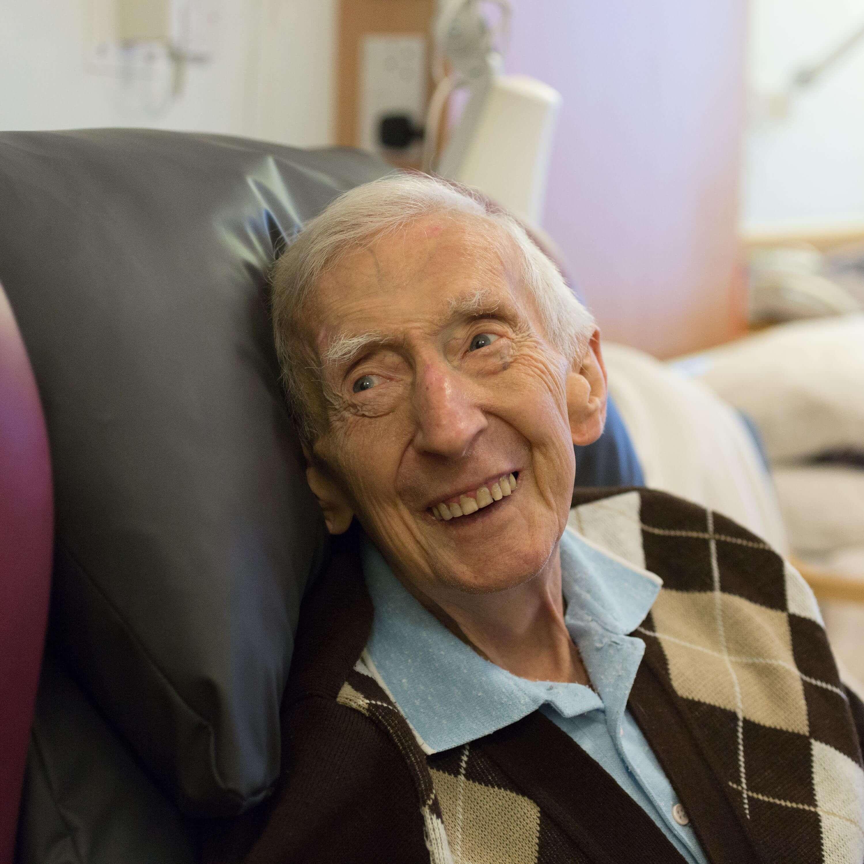 Ernie, Hospice Patient
