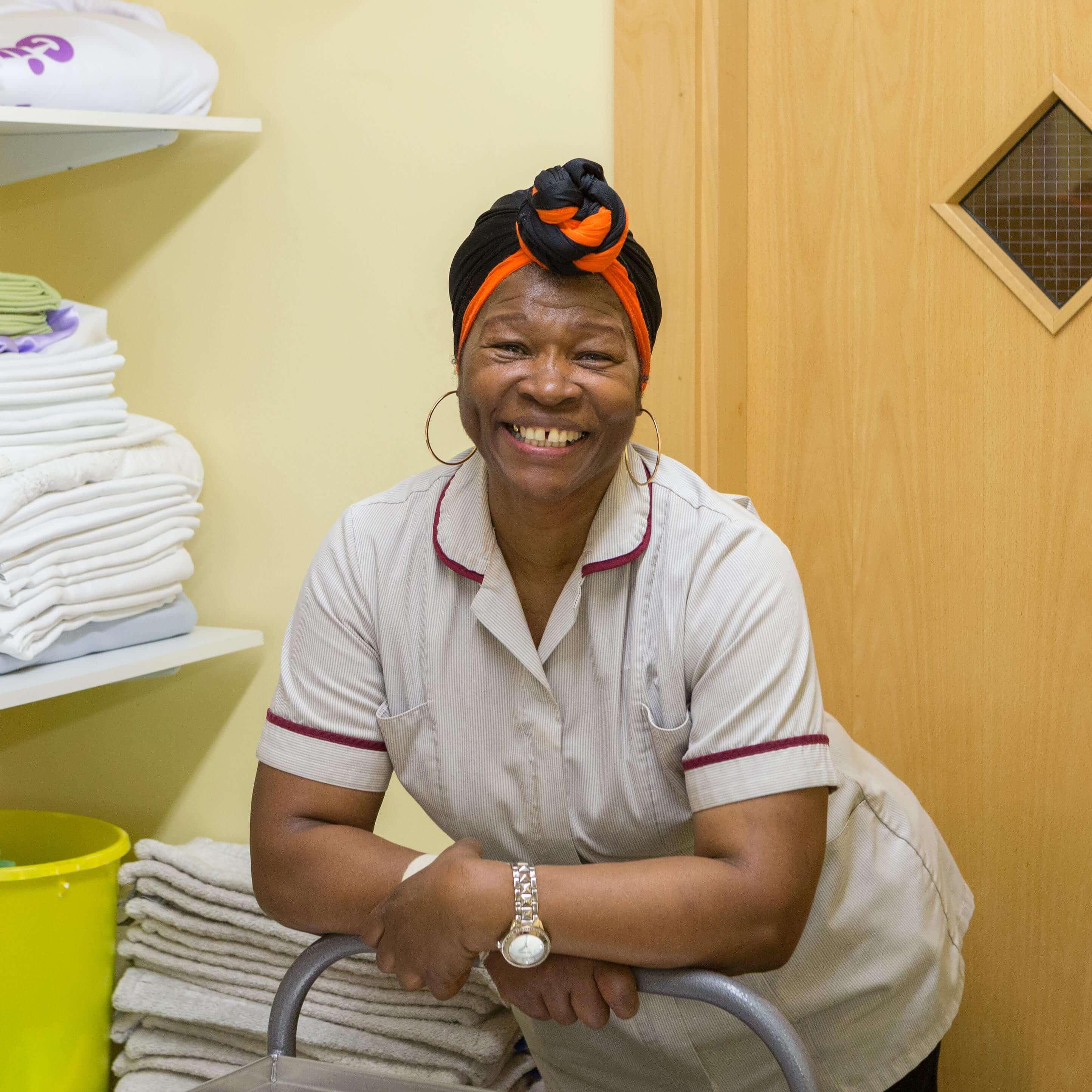 Sonia, Housekeeper