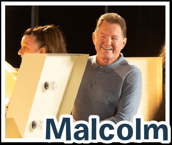 Photo of volunteer Malcolm